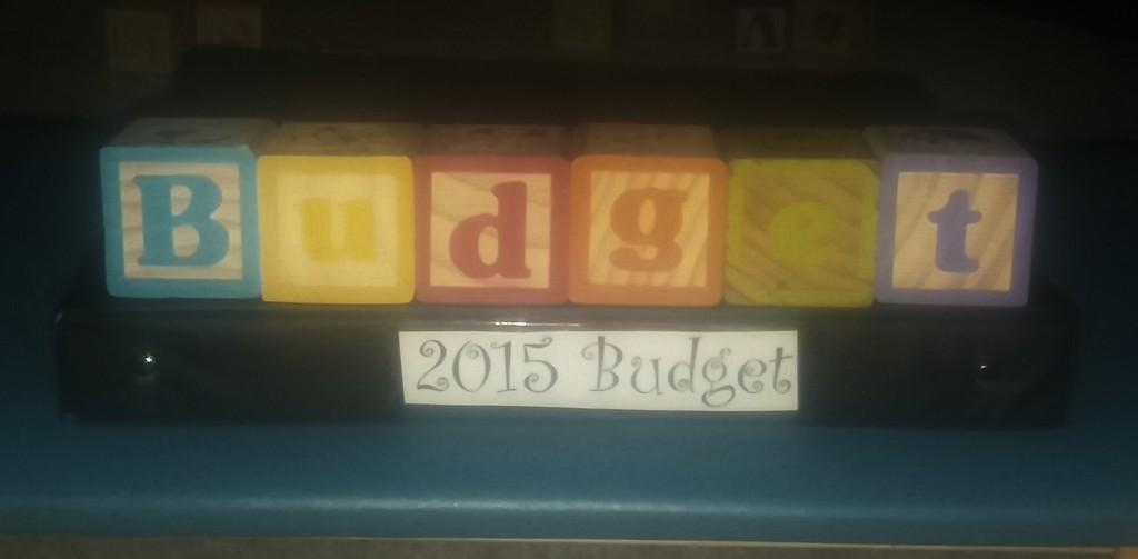 My new budget binder. NERD.